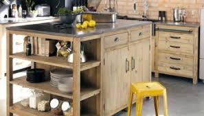 plan de travail cuisine bois brut cuisine où trouver des meubles indépendants en bois brut le
