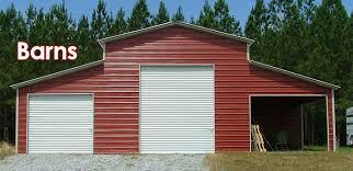 sheds carports garages barns pavilions and other steel