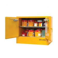 Flammable Liquid Storage Cabinet Location by Underbench Flammable Liquid Storage Cabinet 100l Seton Australia
