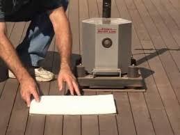 essex silverline deck restoration sanding your deck youtube