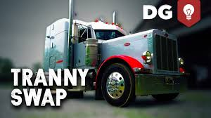 100 Semi Truck Transmission Peterbilt Gets A Swap YouTube