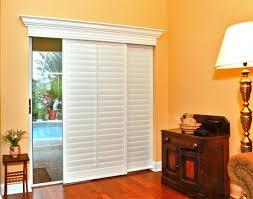 Sliding Door With Blinds In The Glass by Best 25 Sliding Door Coverings Ideas On Pinterest Sliding Door