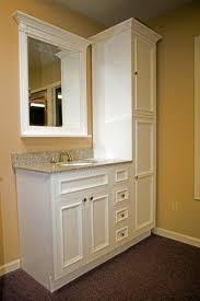 Teak Bathroom Shelving Unit by Best 25 Bathroom Vanity Storage Ideas On Pinterest Bathroom