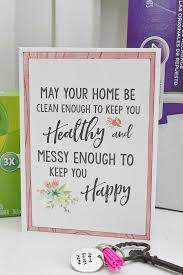 Package Up All Of Your Favorite Cleaning Supplies And A Few Fun Goodies For Practical