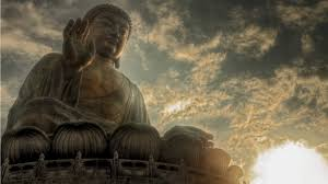 Buddha Statue Clouds Wallpapers
