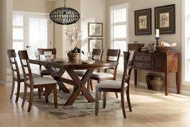 Burkesville Dining Room Trestle Table With Leaf By Signature Design Ashley