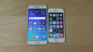 Samsung Galaxy S6 vs iPhone 5S Opening Apps Speed Test 4K