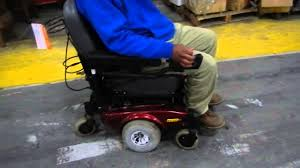 invacare pronto sure step electric wheel chair youtube