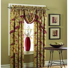 Priscilla Curtains With Attached Valance by Curtains With Valance Attached Soozone