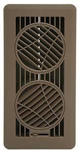 Adjustable Floor Register Deflector by The Deflector Floor Vent Register With 360 Degree Directional Air