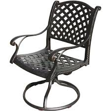 Does Kohls Have Beach Chairs by Darlee Nassau 11 Piece Cast Aluminum Patio Dining Set Ultimate Patio