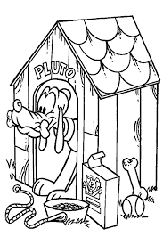Pluto The Faitfull Dog Of Mickey Mouse Which Is A Loved