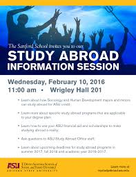 Sanford School Study Abroad Info Session