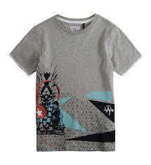 siege social ikks ikks soldes ikks t shirt imprim u00e9 fantaisie gris mode enfant