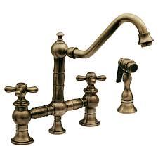 Who Makes Santec Faucets by Whitehaus Whkbtcr3 9201 Vintage Iii 9 Inch Bridge Faucet W Long