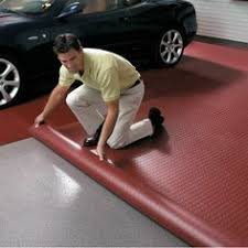 PVC Floor Covering To Protect Garage