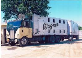 100 Wagner Trucking Pete Cattle Truck N Trailer Good Ol Days Of Trucking Trucks