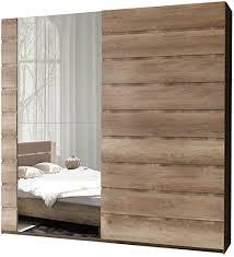 schwebetürenschrank miro 11 modernes kleiderschrank mit spiegel garderobe schlafzimmerschrank schiebetür schrank schlafzimmer set 200 cm