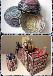 Recycled Newspaper Craft Idea 10 Screenshot 2