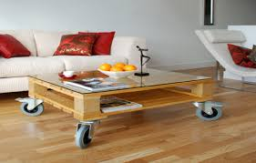 Wooden Pallet Patio Furniture Plans by Reclaimed Wooden Pallet Furniture Coffee Table Set With Glass Top