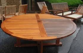 Modern Outdoor Ideas Medium Size Table Teak Wood Patio Furniture Furnituresteak Furnitures Expandable High Tables Round