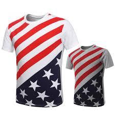 t shirt men tshirt usa flag fashion tee shirts casual mens funny t