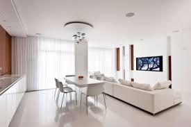 Best Floor For Kitchen Diner by White Kitchen Diner Lounge Interior Design Ideas