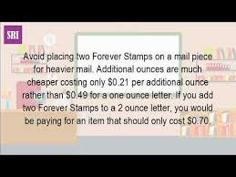 How Many Stamps Are Needed To Mail A Letter