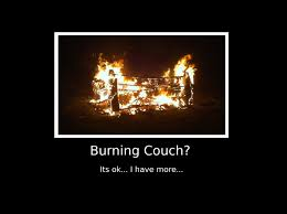 Im Sofa King We Todd Ed by The Couch The Couch The Couch Is On Fire Mgoblog
