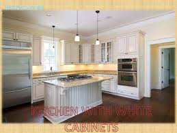 Kitchen Cabinets Wood Floor Design To Ceiling Tile Floors In Taupe White Diamond Granite With