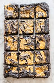 Smitten Kitchen Pumpkin Marble Cheesecake by Dark Chocolate Brownies With Pumpkin Cheesecake Swirl On