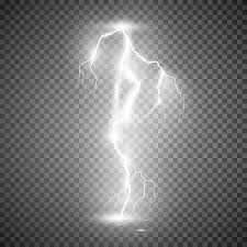 Download Storm Lightning Bolt Vector Illustration On Transparent Background Stock