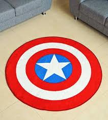 DC & Marvel ic Superhero Rugs & Bedroom Ideas