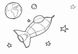 solar system clipart black and white 5
