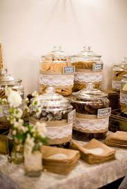 Wedding Bar Ideas Rustic Cookies