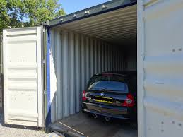 Car Storage In Shipping Container