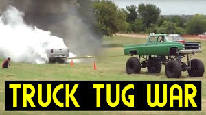 Epic Truck Tug Of War Compilation 2017 - YouTube