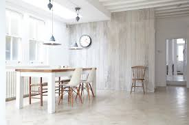 Personable White Tile Flooring Kitchen Architecture Painting Or Other Wood Wall Art Dining Room Scandinavian With Oak Industrial
