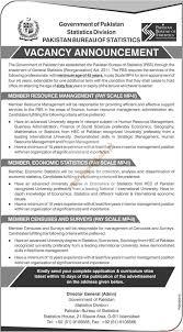 statistics bureau pakistan bureau of statistics the ads 15 july