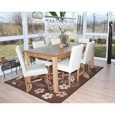 esszimmerstuhl littau küchenstuhl stuhl leder weiß helle beine