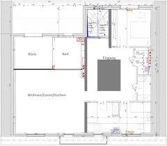 funktionale küche für ein ess wohnzimmer insgesamt 40qm