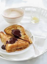 cuisine ricardo com caramelized banana toast with chocolate sauce ricardo
