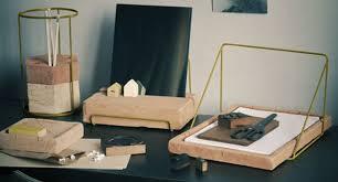 set pour bureau la nouveauté déco de la semaine le set pour bureau en terre