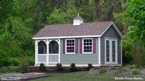 16x20 Shed Plans With Porch by Reeds Ferry Sheds Specialty Buildings