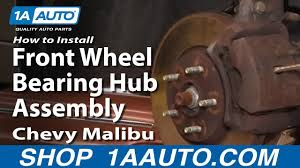 100 2011 Malibu Parts How To Replace Wheel Bearing Hub 0412 Chevy YouTube