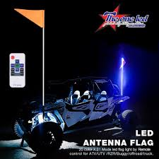 China Wrapped LED Whips Color Changing LED Light Whip For ATV, UTV ...
