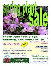 2014 Spring Plant Sale Vendors Flyer 2014pl