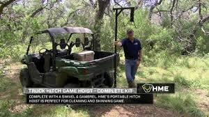 HME Products Truck Hitch Game Hoist - Complete Kit W/ Winch/Gambrel ... Vestil Winch Operated Truck Jib Crane Up To 2k Lb Capacity Wtj4 2 In 1 Deer Hoist Skinner Redneck Blinds Guide Gear Deluxe And Gambrel Swivel Hitch Lift System Amazoncom Big Game Fixed Mount 300 Winch Irrigating Extendatruck 2in1 Load Support Mikestexauntfishcom Patent Us7544032 Hoist For An All Terrain Vehicle Google Portable Skning Tripod With Walmartcom Pulley Receiver Hitch Deer Hoist Battle Armor Designs Kill Shot Hitchmounted Ecotric 400lb Hunting