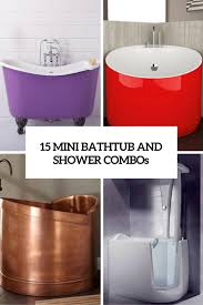 Portable Bathtub For Adults Online India by 15 Mini Bathtub And Shower Combos For Small Bathrooms Dream