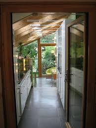 agrandissement cuisine extension maison bois puits de lumiere extension contemporaine